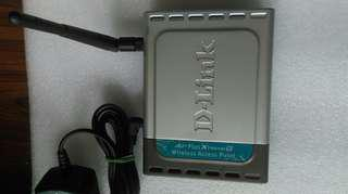 D-link DWL-2100AP  wireless router無線寬頻路由器