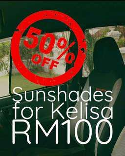 50% discount Sunshades for kelisa