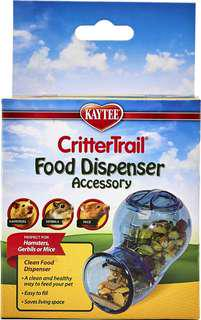 CritterTrail food dispenser