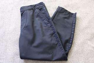 Adidas navy blue trousers