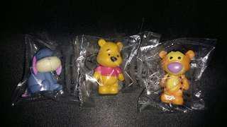 Winnie The Pooh figures 小熊維尼和朋友公仔