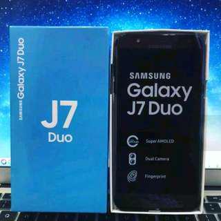 New Samsung Galaxy J7 Duo.  Bisa dikredit loh