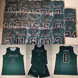 Custom Basketball Sublimation Jersey