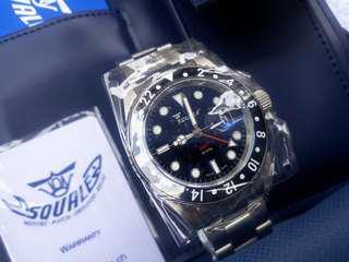 Squale GMT Diver 300m NOS Under warranty Authentic