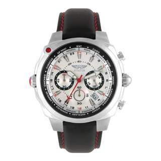 BNIB Aviator World Time Chronograph F-Series Collection Watch