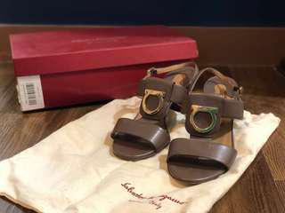 Salvatore Ferragamo Block Sandals