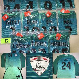 Custom Soccer Jersey Team Order