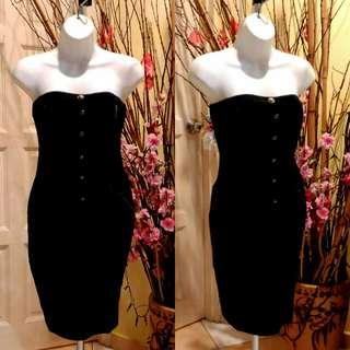 Black Tube Bodycon Dress