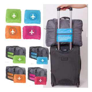 Happy Flight Foldable Folding Travel Bag Hand Carry Tas Lipat Koper