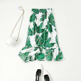 🚚 浪漫棕櫚樹長裙