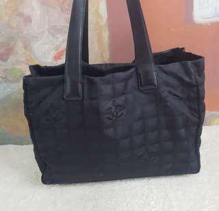 AUTHENTIC CHANEL TRAVEL LINE TOTE