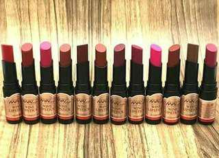 Wine Lipstick Set
