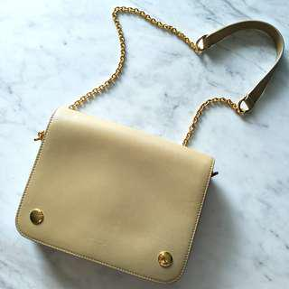 >50% OFF! Mulberry Clifton Bag in Beige Calf Leather