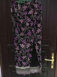 rok batik panjang tailor made #mauiphonex