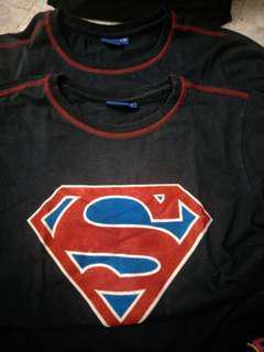 Superman kid T Shirt dark blue