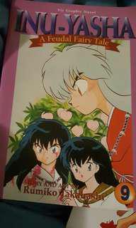 Inu-Yasha Manga Volume 9