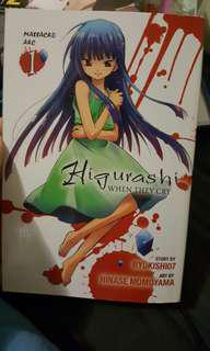 Higurashi When They Cry Manga Massacre Arc 1