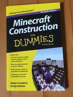 Minecraft construction for Dummies- Adam Cordeiro/Emily Nelson