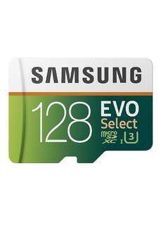 4K Samsung 128gb Micro SD Card Class 10 U3 100mb/s 90mb/s