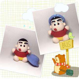 Shin Chan - Amigurumi Crochet Doll
