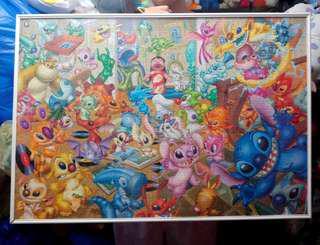 Lilo and stitch Disney puzzle