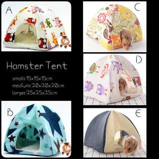 Hamster Tent with cushion