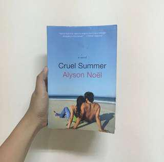 Cruel Summer by Alison Noel