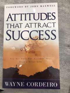 Attitudes that attract success