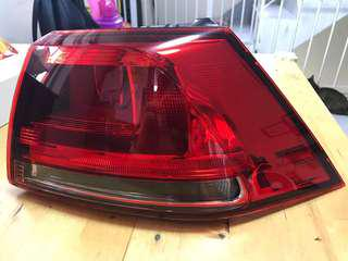 VW GOLF MK7 右尾燈 RIGHT OUTER REAR LAMP LIGHT