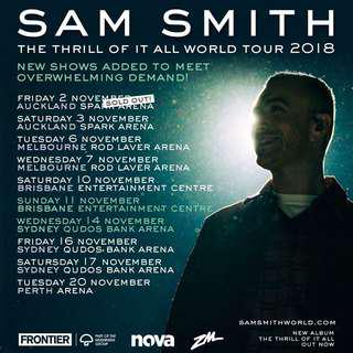 Sam Smith Concert Tickets