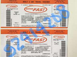 (ALL IN) BATAM FAST FERRY TICKETS (ETICKETS) PROMO