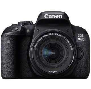 Canon T7i/800d BODY only