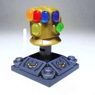 Lego Marvel Super Heroes - Infinity Gauntlet with 6 Stones Avengers Original new