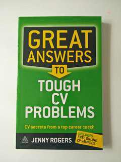 Great Answer to Tough CV Problems