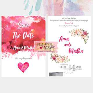 WC33 ~ Wedding Card
