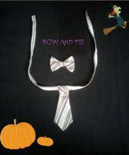 Set Bow and Tie