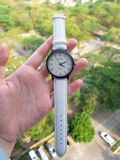 White Watch Vintage Stainless New