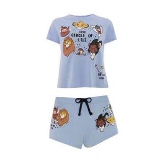 🚚 Primark The Lion King Simba Pyjamas Set