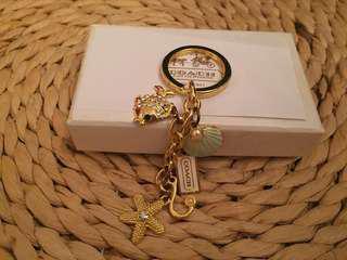 Sale 🌟COACH key chain/bag charm Sea motives