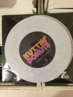 """Kuttin' Donuts (Dr. Suzuki 7"""" inch scratch slipmat)"""