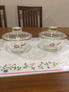 Sakura glass containers
