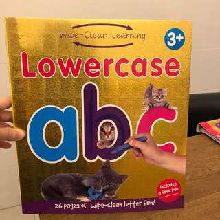 Wipe Clean Learning Lowercase