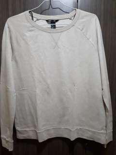 H&M sweater cream