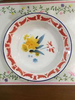 Enamel plate 22 cm