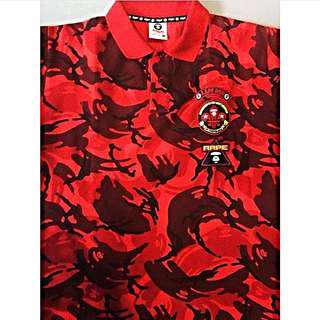 #aape By #bathingape #poloshirt