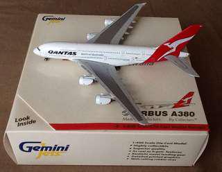 BRAND:GEMINI JETS QANTAS AIRLINES A380/1:400