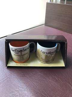 Starbucks Icon Demitasse Amsterdam Set