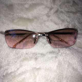 pink colored with cute flower details sunnies