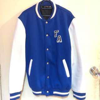 Blue Varsity Jackets