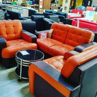 Sofa Polaris 2,1,1 bisa kredit tanpa bunga dan dp